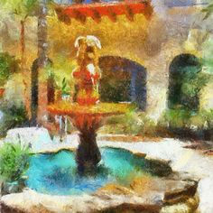 Mobile Art Impressionist Painting by Coy Townson