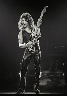 Eddie (Van Halen) guitar alien! changed the game; changed the whole damn stadium!!!
