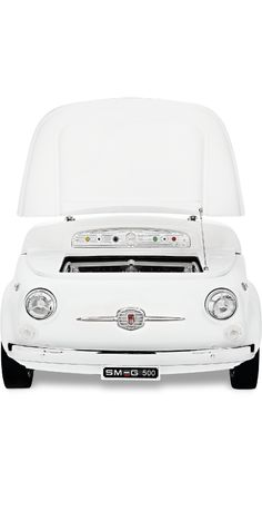 A very special cooler developed by SMEG for Fiat 500 Design | The Power of the Automotive Brand, #DesignLUX
