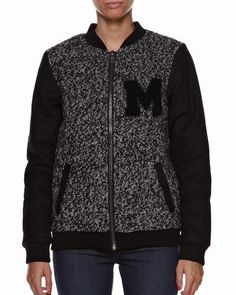 Minimum JAcket - Shop here > http://www.surfstitch.com/eu/en/product/minimum-svala-jacket-black-8123BH4999 #backtoschool #trend #college