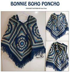 Hey, I found this really awesome Etsy listing at https://www.etsy.com/au/listing/623796113/bonnie-boho-poncho-crochet-pattern-pdf