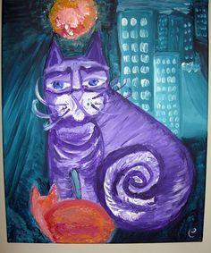 Cats in town by Creativeness.deviantart.com on @deviantART