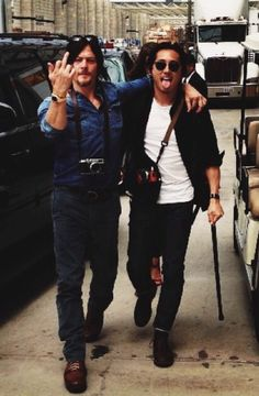 Steve and Norman