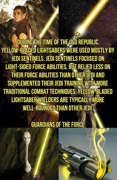 Lightsaber Crystal Guide Yellow Yellow always was my fave yellow lightsaber - Yellow Things Star Wars Trivia, Star Wars Facts, Star Wars Rebels, Star Wars Rpg, Star Wars Jedi, Star Trek, Lightsaber Colors, Lightsaber Color Meaning, Lightsaber Design