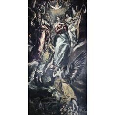 The Immaculate Conception El Greco (1541-1614Greek) Oil on canvas Iglesia Santa Cruz Toledo Spain Canvas Art - El Greco (18 x 24)
