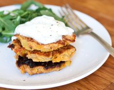 Gojee - Sweet Potato and Leek Cakes with Cardamom by Five and Spice