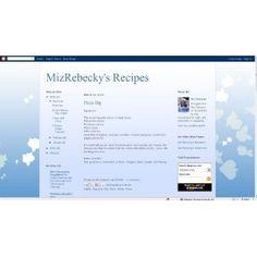 MizRebecky's Recipes (Kindle Edition)  http://www.redkabbalahstrings.com/april.php?p=B007L5FCKU  B007L5FCKU