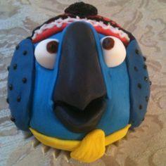 Rio - Angry Birds Cupcake
