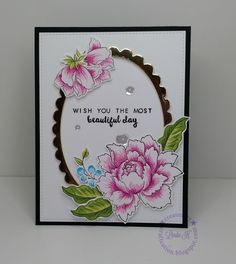 Hello, everyone! I absolutely love Altenew's Peony Bouquet and Beautiful Day stamp sets so it was natural to combine the two. These two ...