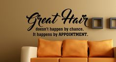 Hey, I found this really awesome Etsy listing at https://www.etsy.com/listing/271964198/hair-salon-decor-great-hair-salon-wall