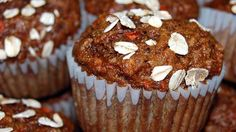 These easy and tasty muffins are a glorious way to start any day. They combine the great taste and chewy texture of carrots with the wonderful flavors of apple, raisins, coconut, walnuts, and cinnamon.