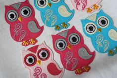 Customize and personalize your clothes, bags and textile projects with this Iron On Motif . This is ideal for textile lovers, animal lovers and anyone who find this applique adorable! Perfect not only for use on textiles, this versatile motif is also ideal for use in scrapbooking, card making and much more. This Motif is … Cool Fabric, I Shop, Applique, Card Making, Owl, Scrapbooking, Iron, Lovers, Textiles