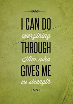 I can do everything through Him who gives me strength word art print poster black white motivational quote inspirational words of wisdom motivationmonday Scandinavian fashionista fitness inspiration motivation typography home decor Inspirational Words Of Wisdom, Inspirational Posters, Motivational Posters, Typography Quotes, Typography Prints, Typography Poster, Print Poster, Art Print, Favorite Bible Verses