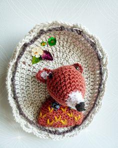 Cadre crochet tournicote