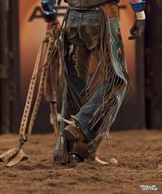 It's boots and chaps It's cowboy hats It's spurs and lattigo It's the ropes and the reins And the joy and the pain And they call the thing rodeo. Rodeo Cowboys, Hot Cowboys, Real Cowboys, Cowboys And Indians, Cowboy Gear, Cowgirl And Horse, Cowboy And Cowgirl, Cowboy Boots, Cowboy Games