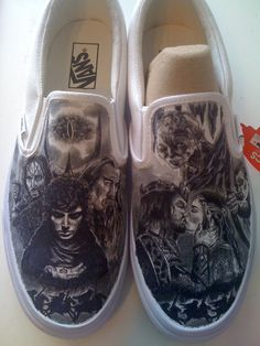 Lord of the Rings custom made shoes.