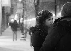Marie Laigneau Google+ Snow Portrait series