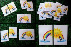 Produkt - Abeceda - DUHA Logos, Cards, Logo, Maps, Playing Cards