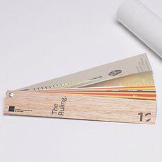 AiGA The Ruling wooden screwpost printed fan deck invite by Sneller. snellercreative.com. #snellercreative #custommarketingmaterials #createsomethingamazing