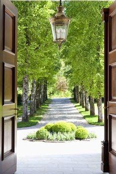 The Creeping Fig-Robert Courturier's Garden in Connecticut- so stunning!