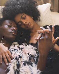 "pocmodels: ""Amelia Rami & Youssouf Bamba by Andres Burgos "" Black Love Couples, Black Love Art, Cute Couples Goals, Black Is Beautiful, Beautiful People, Black Girl Aesthetic, Brown Skin, Black People, Black Girl Magic"