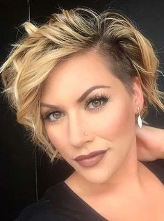 Best Undercut Short Hairstyles for Girls to Sport in 2020 | Voguetypes Little Girl Short Haircuts, Short Blonde Haircuts, Latest Short Hairstyles, Best Short Haircuts, Girl Haircuts, Hairstyles Haircuts, Short Girls, Haircut Styles For Women, Short Haircut Styles