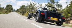 Seven 280   Caterham Cars US.  Follow the image to be taken to the specs.  The website also includes a detailing pricing sheet.
