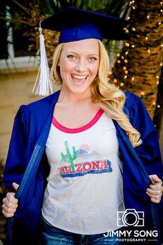 University of Arizona Senior Graduation Grad Photo Portraits Idea Fun Smile Happy Sorority Alpha Delta Pi