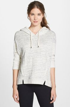 Betsey Johnson Performance Marl Terry Hoodie available at #Nordstrom