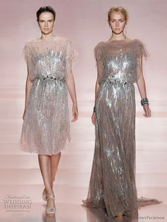 leighton meester jenny packham ss 2011 rtw - the dress Blair Waldorf wore in one of the episodes of Gossip Girl