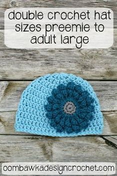 Looking for a free crochet pattern for a basic DC beanie using worsted weight yarn and a 6.0 mm crochet hook? Look no further! Here is your free crochet pattern!