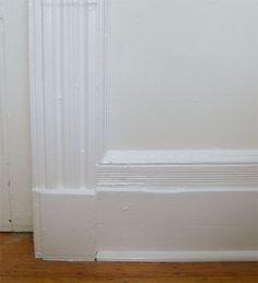 Benjamin moore white dove walls super white trim for Manhattan tan paint color