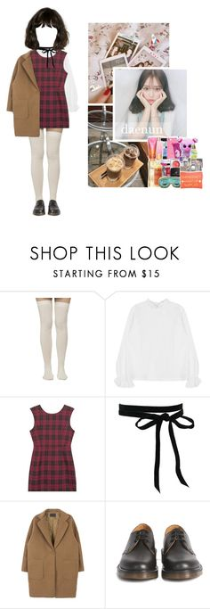 """daenun; celebrating mya's graduation from sopa"" by euphoria-official ❤ liked on Polyvore featuring Dr. Martens"