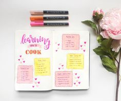 Love to use Pro Stencils for my Planner Coloring Brush Pen, Bujo, Stencils, Bullet Journal, Fudge Brownies, How To Plan, Love, Learning, Journaling