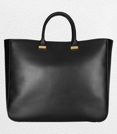 Thirty-Five Roomy and Polished Leather Totes -- The Cut