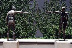 sculpture in the yard of Speke Gallery / CIRCA on Jellicoe, Rosebank, Johannesburg Sa Tourism, Travel And Tourism, Sculpture Art, Garden Sculpture, South African Art, See World, Pretoria, Countries Of The World, Statues