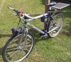 How to build a solar powered bicycle