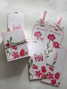 Stampin Up tagbox.