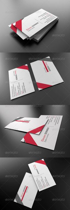 New Line Corporate Business Card