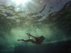 gopro nikgotpro.com underwater sea blue girl woman wave dive heraklion crete hellas greece (originally uploaded: http://nikgotpro.com/gopro_photo_item/62)