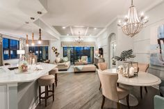 From the chandelier to the FLOOR, do you like this DECOR?!