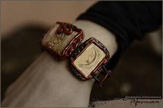 Luna Moon bracelet  Wheel by Vocisconnesse on etsy