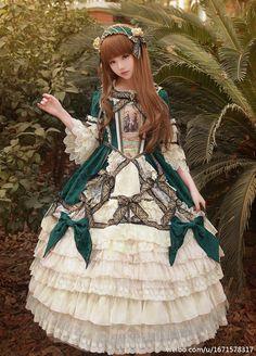 A Long Petticoat Will Make You Like A Fairy When Wearing Your #BTSSB ✝La Robe de la Reine pour Midori✝ OP