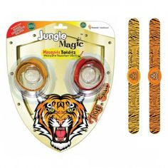 Jungle Magic Mosquito Banditz Tiger (Pack of 2)