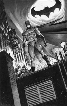 Batman Art by Dan Mora