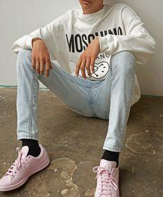 97b07ebfb59 31 Best Lightwash denim inspo images in 2017 | Street outfit ...