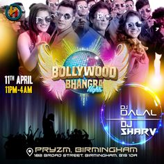 Eventbrite - Harmony Productions presents Bollywood Bhangra Night - Thursday, 11 April 2019 Event Branding, First Event, Ready To Play, April Fools, Videography, Birmingham, Stuff To Do, How To Find Out, Dj