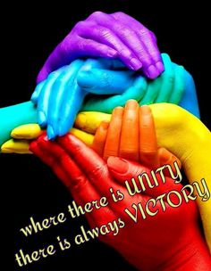 Where there is unity there is always victory