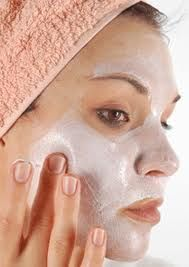 Home made face masks for different skin types.