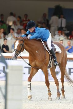 Luciana Diniz (POR) on Fit for Fun 13 - Paris 2015 - LONGINES GLOBAL CHAMPIONS TOUR